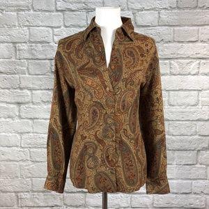 Pendleton Vintage Paisley Button Down Shirt
